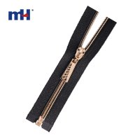 0222-5139 gold open end zipper
